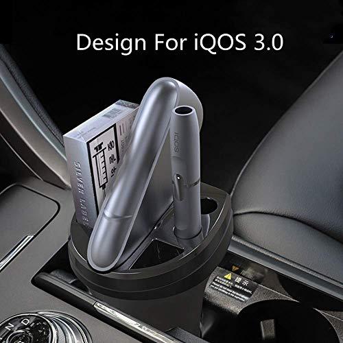 LUXACURY - Caricabatteria da Tavolo per IQOS 3 IQOS 3.0 per Sigaretta Elettronica IQOS® Accessori con posacenere per Auto iQOS 3 Accesso