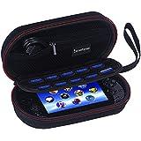 Smatree P100 Reisen und innere Lagergehäuse (7.8x 4.4x 2.4 inches) mit Reißverschluss Netztasche für PS Vita, PS Vita Slim und Zubehör