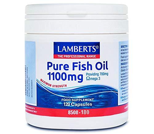 Lamberts Aceite de Pescado 1100 mg - 120 Cápsulas