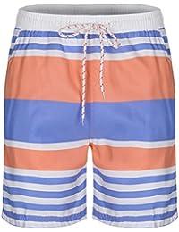 SoulStar Soul Star Men's Striped Swim Shorts