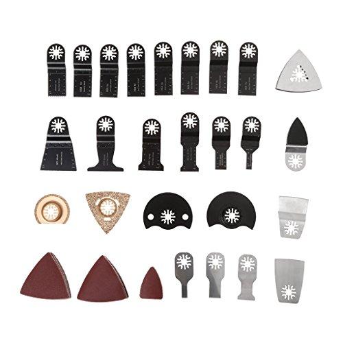 Galleria fotografica Tshopm 100pcs sega lame oscillante multi Tool kit di accessori per Fein Bosch Makita