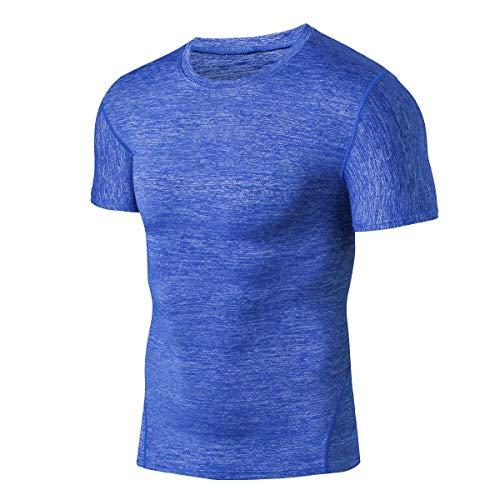 ➤ T-Shirts für Herren,Loveso Spätestens Bekleidung Männer Einfarbig Kurzarm Sport und Freizeit Oberteile Fitness Sweatshirts Pullover Tops