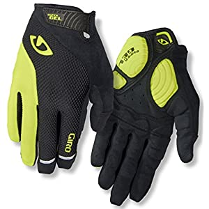 Giro Strade Dure LF Gloves Herren Black/Highlight Yellow 2019 Fahrradhandschuhe