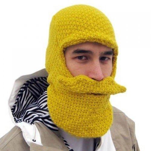 Gap Knit Pants (Beard Head Original Beard Head Beanie, gelb, BH1001YW)