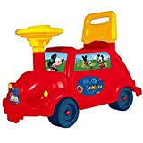 Disney Mickey Mouse Toddler Ride On Car Vehicle Auto Buggy Childrens Infant Push Along Toy Xmas Gift by Disney