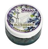 Shiazo 100gr. Dampfsteine Blaubeere - Stein Granulat - Nikotinfreier Tabakersatz 100g