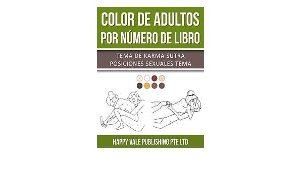 Buy Color De Adultos Por Numero De Libro: Tema De Karma Sutra ...