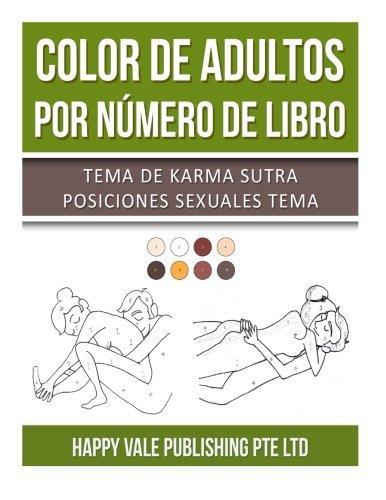 Color De Adultos Por Número De Libro: Tema De Karma Sutra Posiciones Sexuales Tema