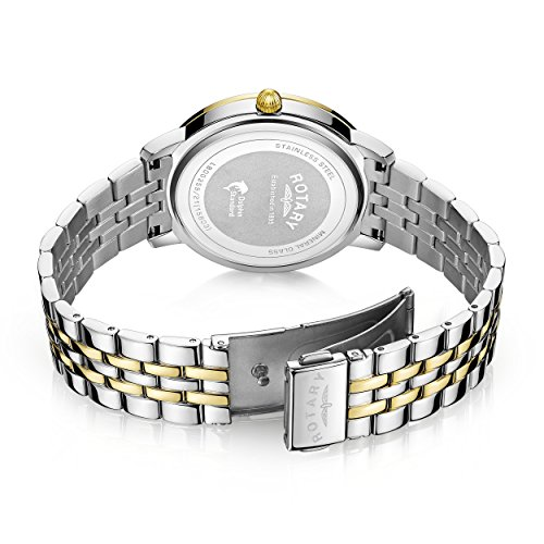 Rotary-Womens-Quartz-Watch-with-Silver-Dial-Analogue-Display-and-Two-Tone-Stainless-Steel-Bracelet-LB0035921