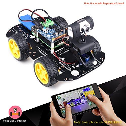 Kuman Professional WIFI Smart Robot Model Car kit Video