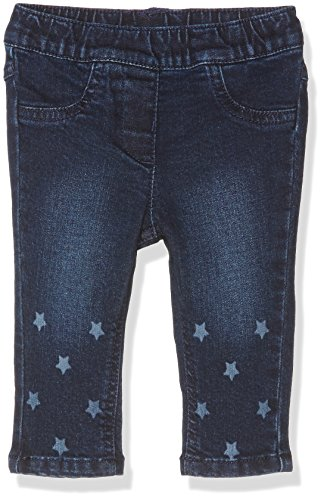 TOM TAILOR Kids Baby-Mädchen Jeanshose Soft with Print, Blau (Stone Blue Denim 1095), 74