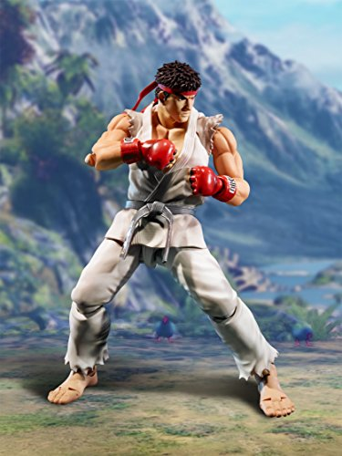 Street Fighter- Ryu Figura 15 Cm V SH Figuarts, Multicolor (BDISF051930) 3