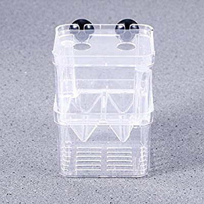 POPETPOP 3Pc Aquarium Fish Breeder Box Fischzucht Isolation Box Breeder Brutstätte Inkubator