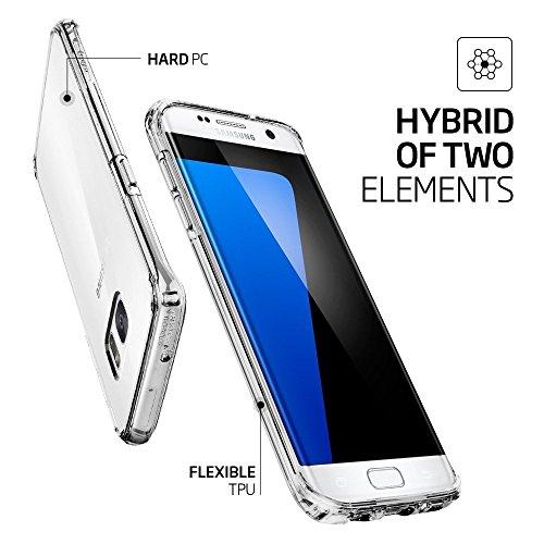 myTech® Premium Case Transparent Schutzhülle Transparent Crystal Clear Ultra Dünn passend fürSamsung Galaxy S7 Edge