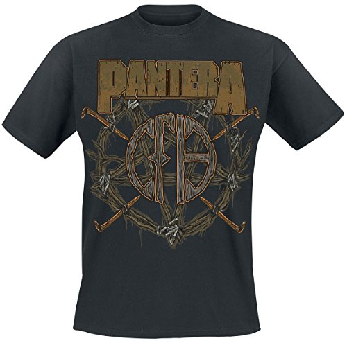 Pantera Wreath T-Shirt nero M