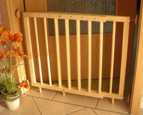 TürschutzgitterAbsperrgitter 110-150cm zum klemmen (nicht schwenkbar)