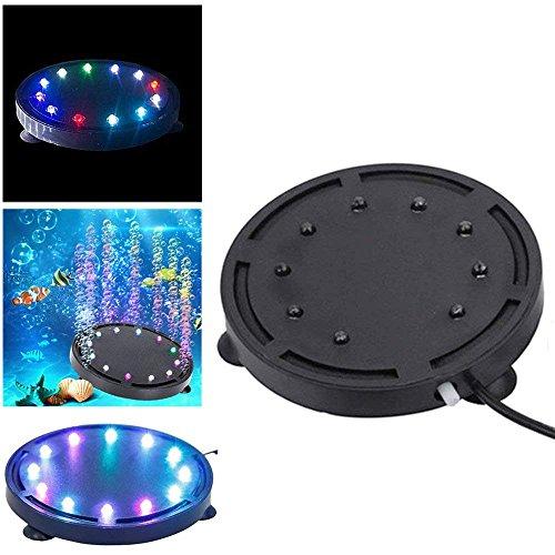 Yakamoz 9 LEDs Lapme Aquarium Air Bulle Étanche...