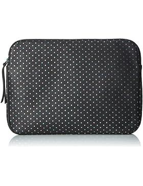 Liebeskind Berlin Damen Emeliew7 Starst Laptop Tasche, Schwarz (Oil Black), 1 x 24 x 32 cm