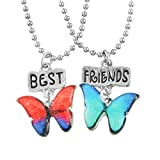 Best Collier Amis For Girls - MJARTORIA Femme Bijoux Collier Chaine Amitie Best Friends Review