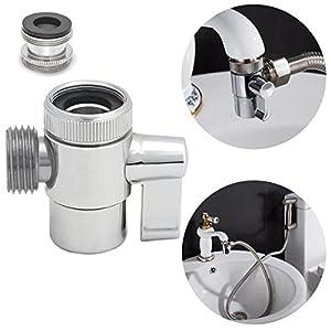 Ciencia SUS304 Deviatore acciaio inox per il rubinetto della cucina lavandino o lavandino rubinetto del bagno del… 515KzVm0slL. SS300