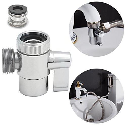 Ciencia SUS304 Edelstahl Diverter Für Küchenspüle Wasserhahn oder Waschbecken Wasserhahn Wasserhahn Ersatzteil SBA021 - Delta Handbrause Bronze