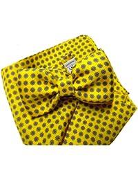 744bcd0f72 Avantgarde - Completo abbinato uomo papillon e pochette vari colori in seta  made in italy