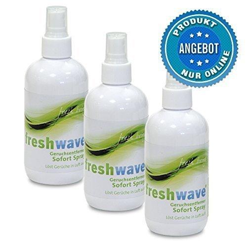 3er-Set freshwave® Geruchsentferner-Sprays 250ml