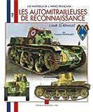 Les matériel de l'armée française - Les automitrailleuse de reconnaissance : AMR 35 (2)