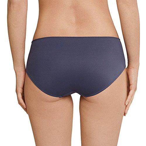 Schiesser Damen Panties Mix & Relax Panty Blau (Blaugrau 808)