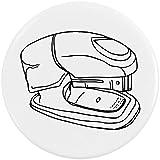 Azeeda 58mm 'Engrapadora' Insignia de Botón Pin (BB00025611)