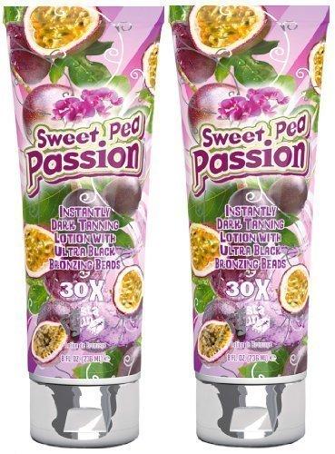 2x Fiesta Sun parasole da 236ml Tanning Lozione letto crema dolce pisello Passion fruc veterinaria Sensations