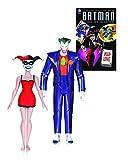 DC Universe DC Comics AUG150311Buch und Action-Figuren (2Stück) aus der Batman-Zeichentrickserie - Joker und Harley Quinn, Buch Mad Love (in englischer Sprache)