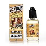 Liquido Sigarette 30ml 70%VG VAPBUS® Popcorn E Liquid senza Nicotina