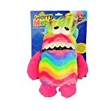 Worry Monster Cuddly Toy Eats Zip Up Mouth Loves Worries Bad Nightmare Dreams (Rainbow)