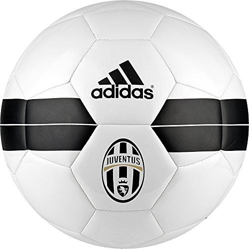 Adidas Juventus Pallone da Calcio, Bianco (Bianco/Nero/Orfúos), 5