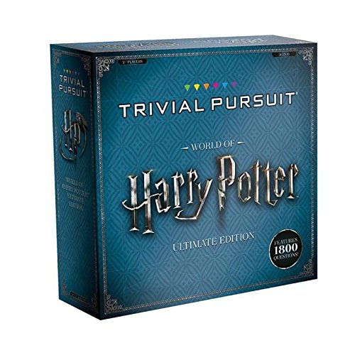 USAopoly World of Harry Potter Ultimate Ultimativ Edition Trivial Pursuit - Ingles