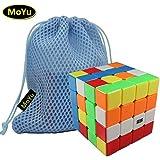 MoYu Aosu 4x4x4 Magic Speed Puzzle Cube Stickerless + a Cube Bag