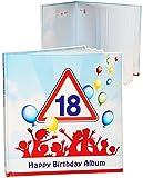 alles-meine.de GmbH Geburtstag -  18 Jahre - Happy Birthday  - Erinnerungsalbum / Fotoalbum - Ge..