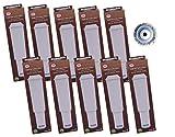 10 x Filterpatrone AquaCrest kompatibel Jura Claris white