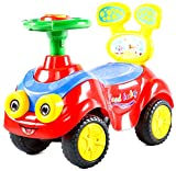 BayBee MantizMoo Push Car (Red)