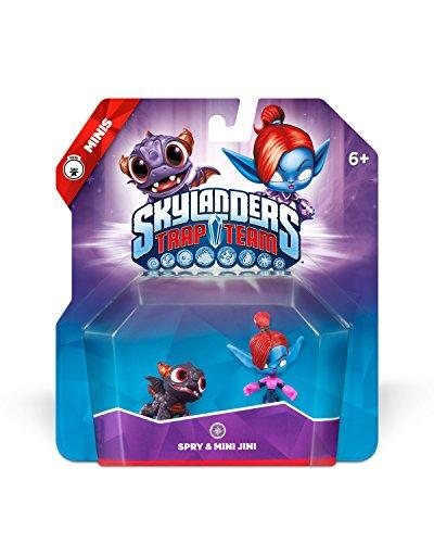 Preisvergleich Produktbild Skylanders Trap Team: Spry & Mini Jini - Mini Character 2 Pack