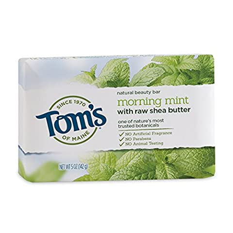 Tom's of Maine - Natural Beauty Bar Soap Morning Mint - 5 oz.