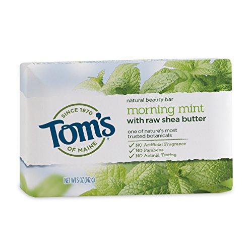 Tom's of Maine - Natürliche Schönheit Stab-Seife Morgen-Minze - 5 Unze.