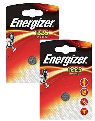 Galleria fotografica Energizer CR1225 BR1225 - Batteria a bottone, agli ioni di litio, 3 V, in confezione blister (2 articoli)