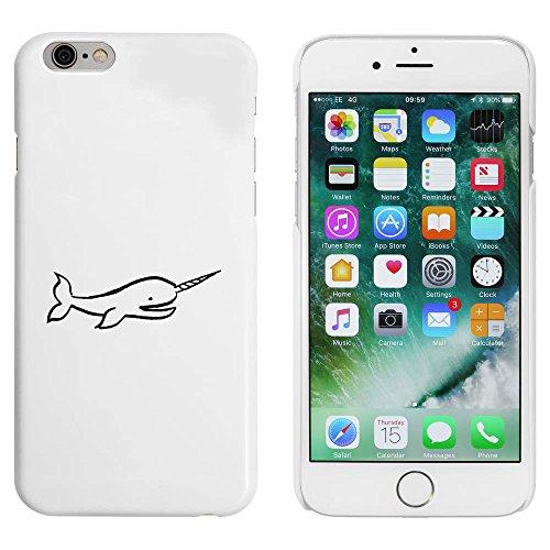 Azeeda Blanco 'Narval' Funda / Carcasa para iPhone 6 y 6s (MC00094495)
