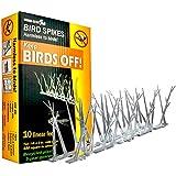 Bird-x inc SP-10-NR - 3m selecciones kit profesional anti-aves de plástico reforzado