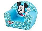Lulabi 719318–Disney Mickey, Sessel Weich, Hellblau, 18+ Monate