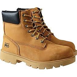 Timberland Sawhorse Wheat Lace up Safety Boot - 8UK