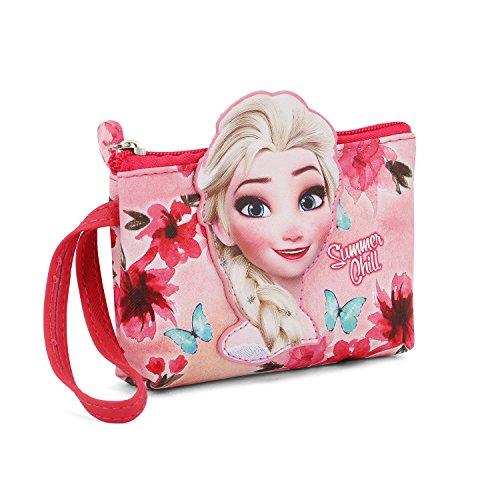 Karactermania La Reine des Neiges (Frozen) Summer Chill-Porte-monnaie Go Münzbörse, 14 cm, Rosa (Pink)