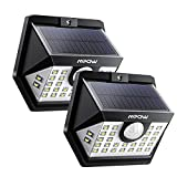 Best MPOW lampes solaires de jardin - Mpow 【3 Modes Intelligents】 2 Pack 30 LED Review